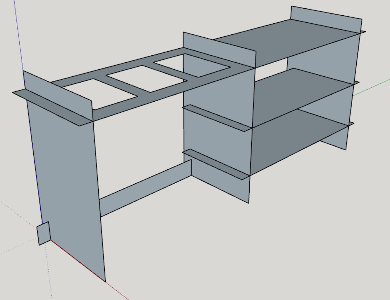 modernduck.com | Flat Pack Kitchen Shelves & Wash Station